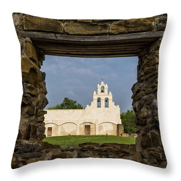 Mission View Throw Pillow