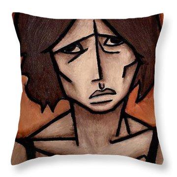 Missy Throw Pillow by Thomas Valentine