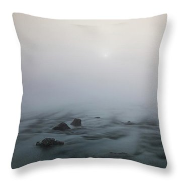 Mist Over The Third Tone From The Sun Throw Pillow