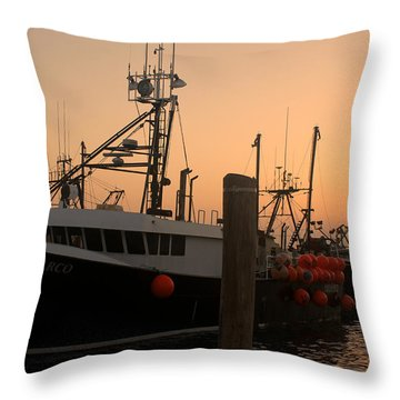 Mister Marco Throw Pillow