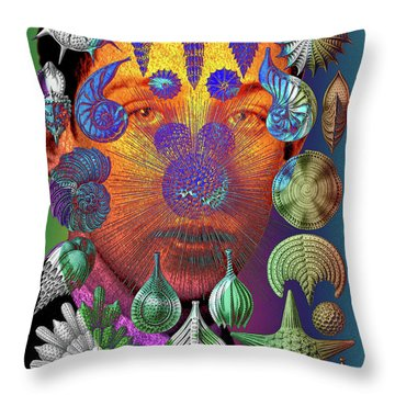 Mister Thalamophora Throw Pillow