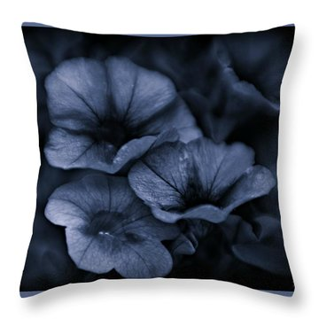 Throw Pillow featuring the photograph Misterious by Michaela Preston
