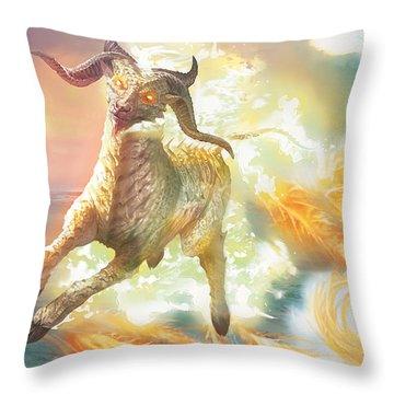 Misthoof Kirin Throw Pillow