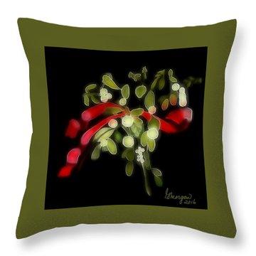 Mistletoe  Throw Pillow