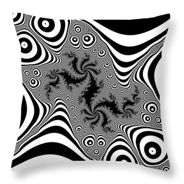 Mistreaded Throw Pillow