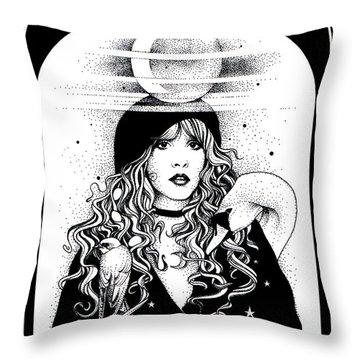 Mistress Of My Faith Throw Pillow