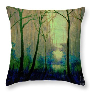Misty Morning 2 Throw Pillow