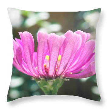 Misty Purple 3 Throw Pillow by Susan Vineyard