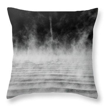 Misty Twister Throw Pillow