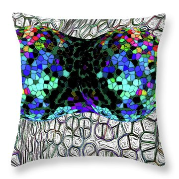 Mitosis Between Consenting Cells Throw Pillow by Bruce Iorio