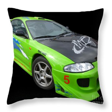 Mitsubishi Eclipse Throw Pillow
