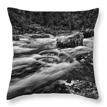 Mixed Emotions Throw Pillow by Mark Lucey