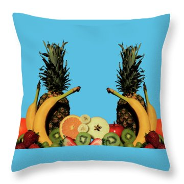 Throw Pillow featuring the photograph Mixed Fruits by Shane Bechler