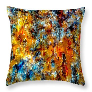 A Place Where Color Is Born Throw Pillow