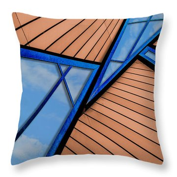 Throw Pillow featuring the photograph Mixed Perspective by Paul Wear