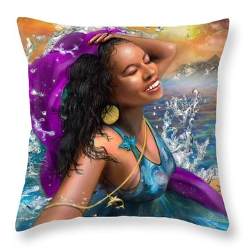 Mizu Throw Pillow