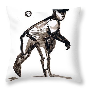 Mlb The Heater Throw Pillow by Seth Weaver