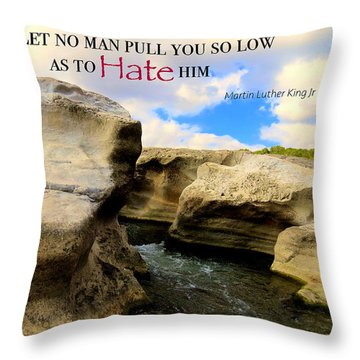 Throw Pillow featuring the photograph Mlk 1 by David Norman