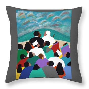 Mlk Called To Serve Throw Pillow