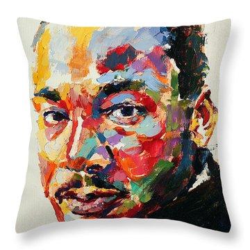 Martin Luther King Jr Throw Pillows