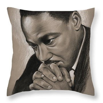 MLK Throw Pillow