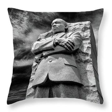 Mlk Memorial Throw Pillow