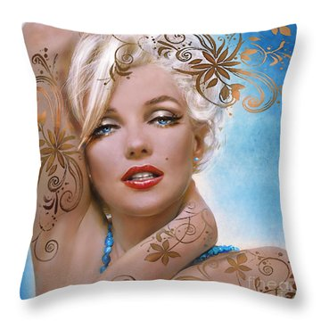 Mm 127 Deco Throw Pillow