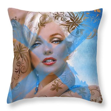 Mm 127  Throw Pillow