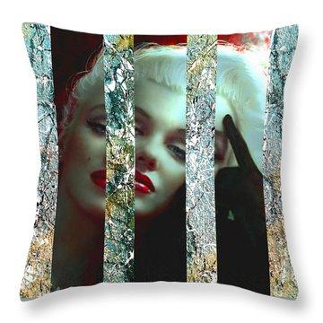 Mm 128 Sis 3 Throw Pillow