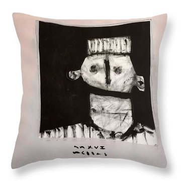 Mmxvii Content Throw Pillow