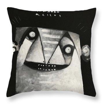 Mmxvii Masks For Despair No 3  Throw Pillow