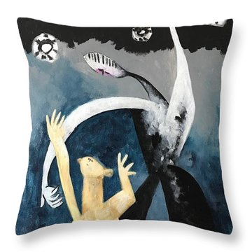Mmxvii The Ascension No. 2  Throw Pillow
