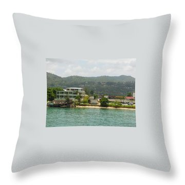 Mo Ocho Throw Pillow