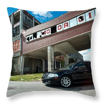 Mo Or City Throw Pillow