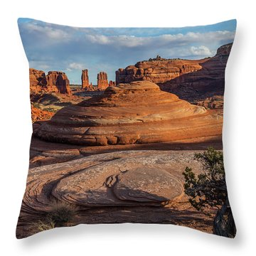 Moab Back Country Throw Pillow