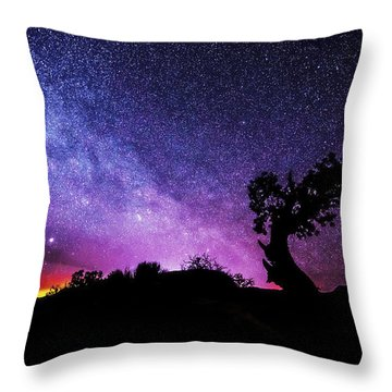 Moab Skies Throw Pillow