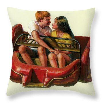 Mobile Manners Throw Pillow
