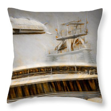 Moby Air Throw Pillow