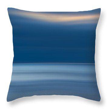 M'ocean 10 Throw Pillow by Peter Tellone