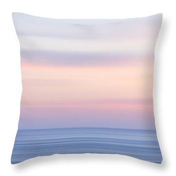 M'ocean 14 Throw Pillow by Peter Tellone