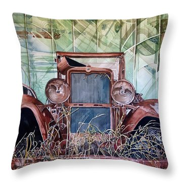 Model A Throw Pillow by Lance Wurst