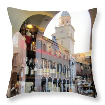 Modena, Italy Throw Pillow