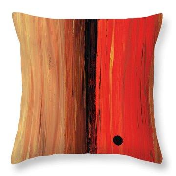 Modern Art - The Power Of One Panel 1 - Sharon Cummings Throw Pillow by Sharon Cummings