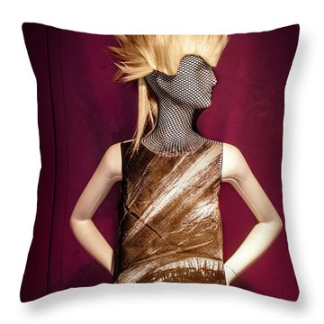 Modern Eye Throw Pillow by Scott Meyer