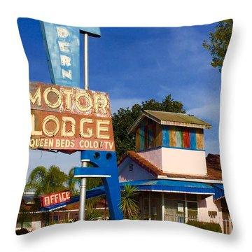 Modern In Lodi Throw Pillow
