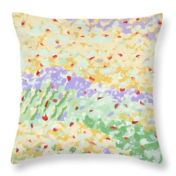 Modern Landscape Painting 3 Throw Pillow