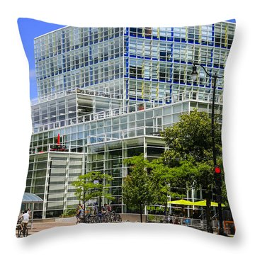 Modern Madison Throw Pillow