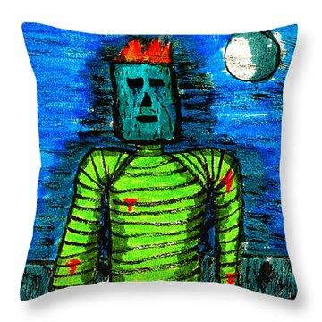 Modern Prometheus Throw Pillow