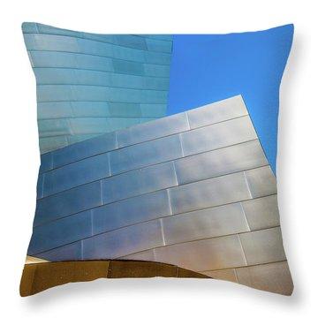 Modern Rock Throw Pillow
