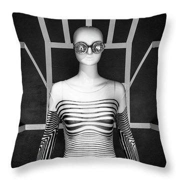 Modern  Throw Pillow by Scott Meyer